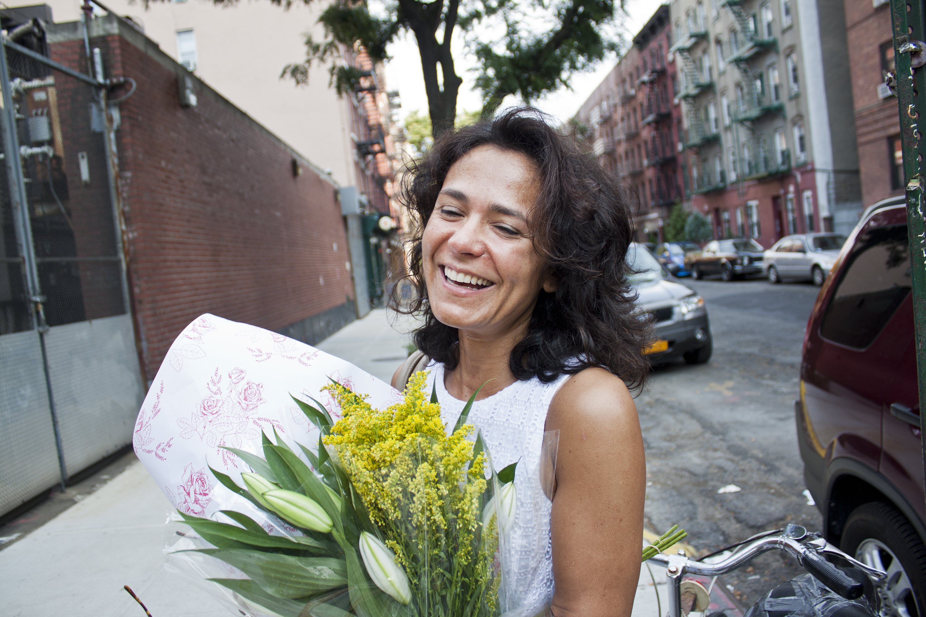 Ancela Nastasi pictured in New York, N.Y., on Aug. 11, 2012. (Steve Silva)