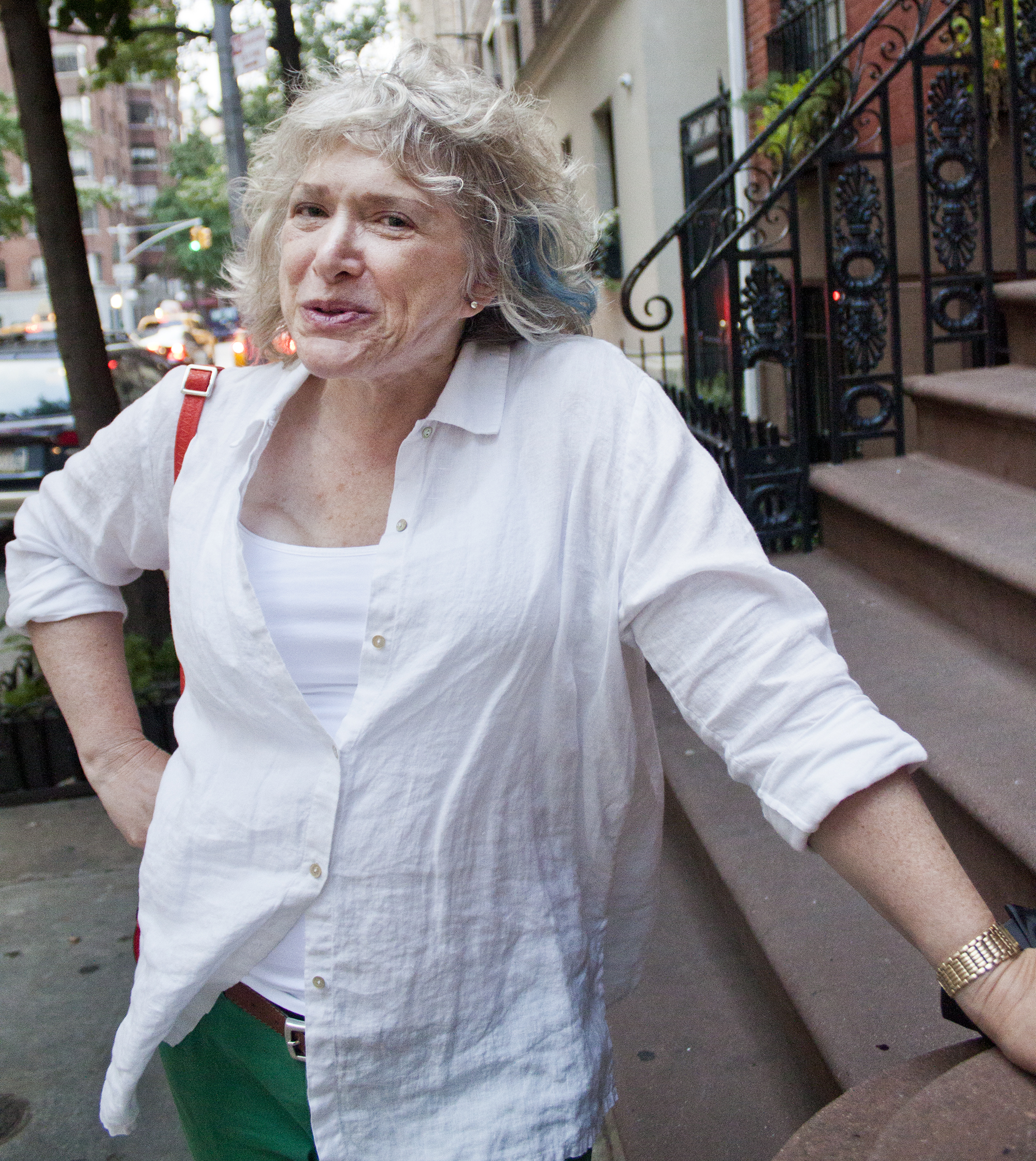 Joyce Wadler pictured in New York, N.Y., on Aug. 11, 2012. (Steve Silva)