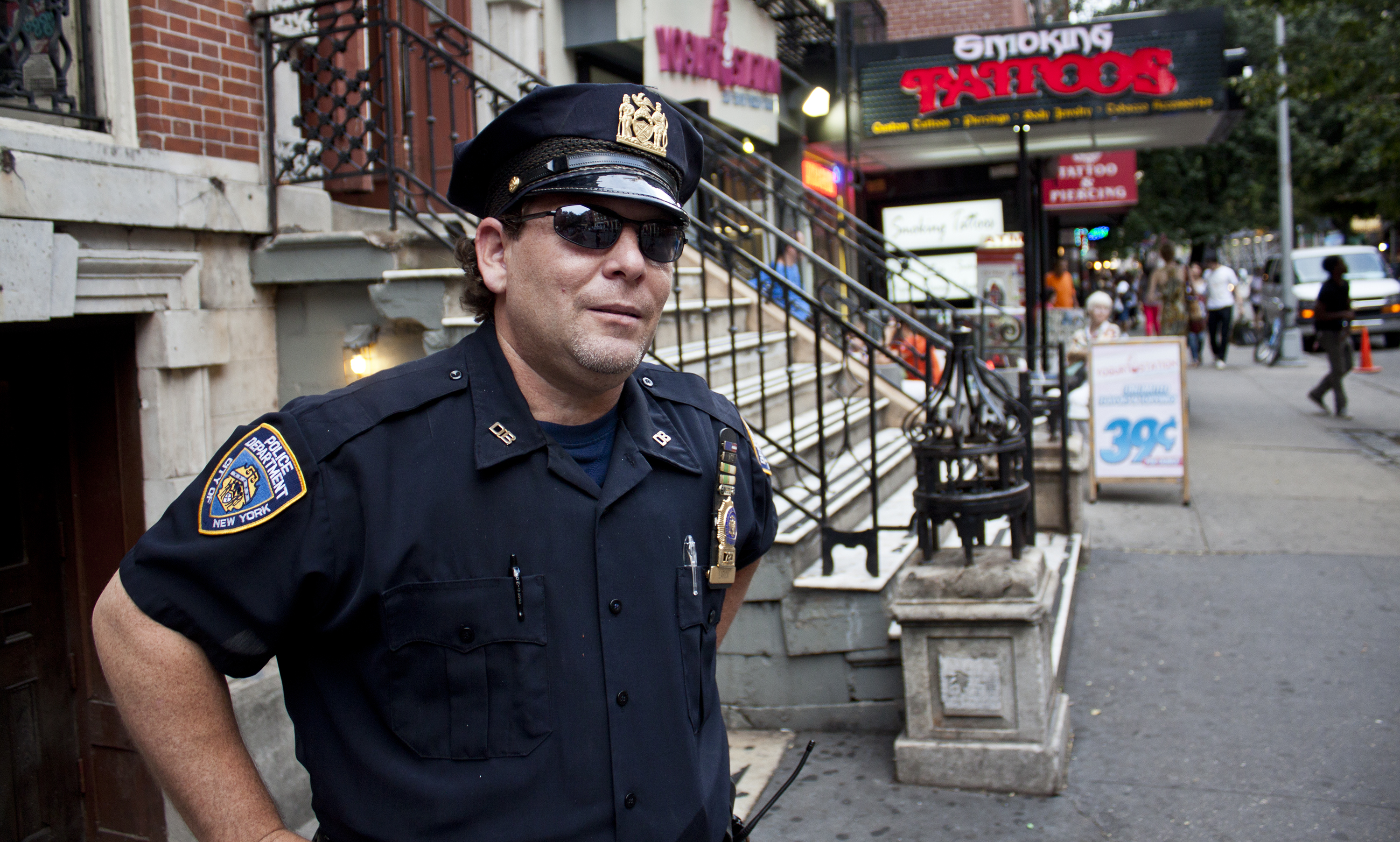 Keith Larick pictured in New York, N.Y., on Aug. 11, 2012. (Steve Silva)
