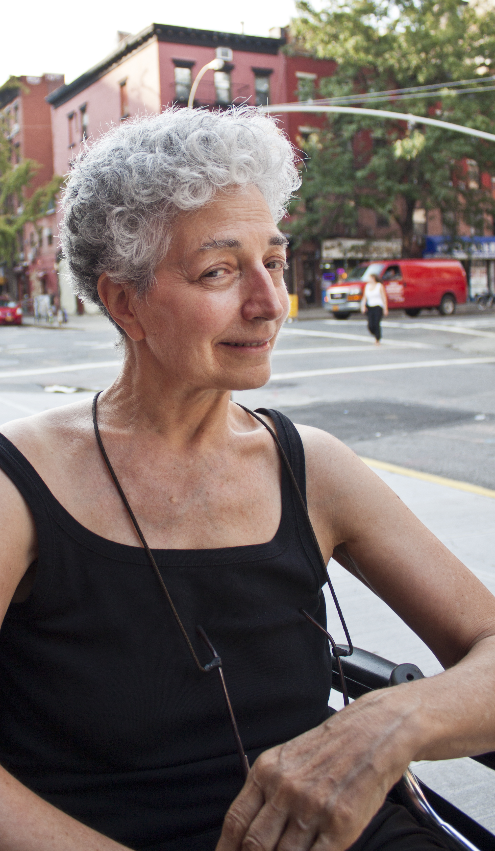 Mona (last name not provided) pictured in New York, N.Y., on Aug. 11, 2012. (Steve Silva)
