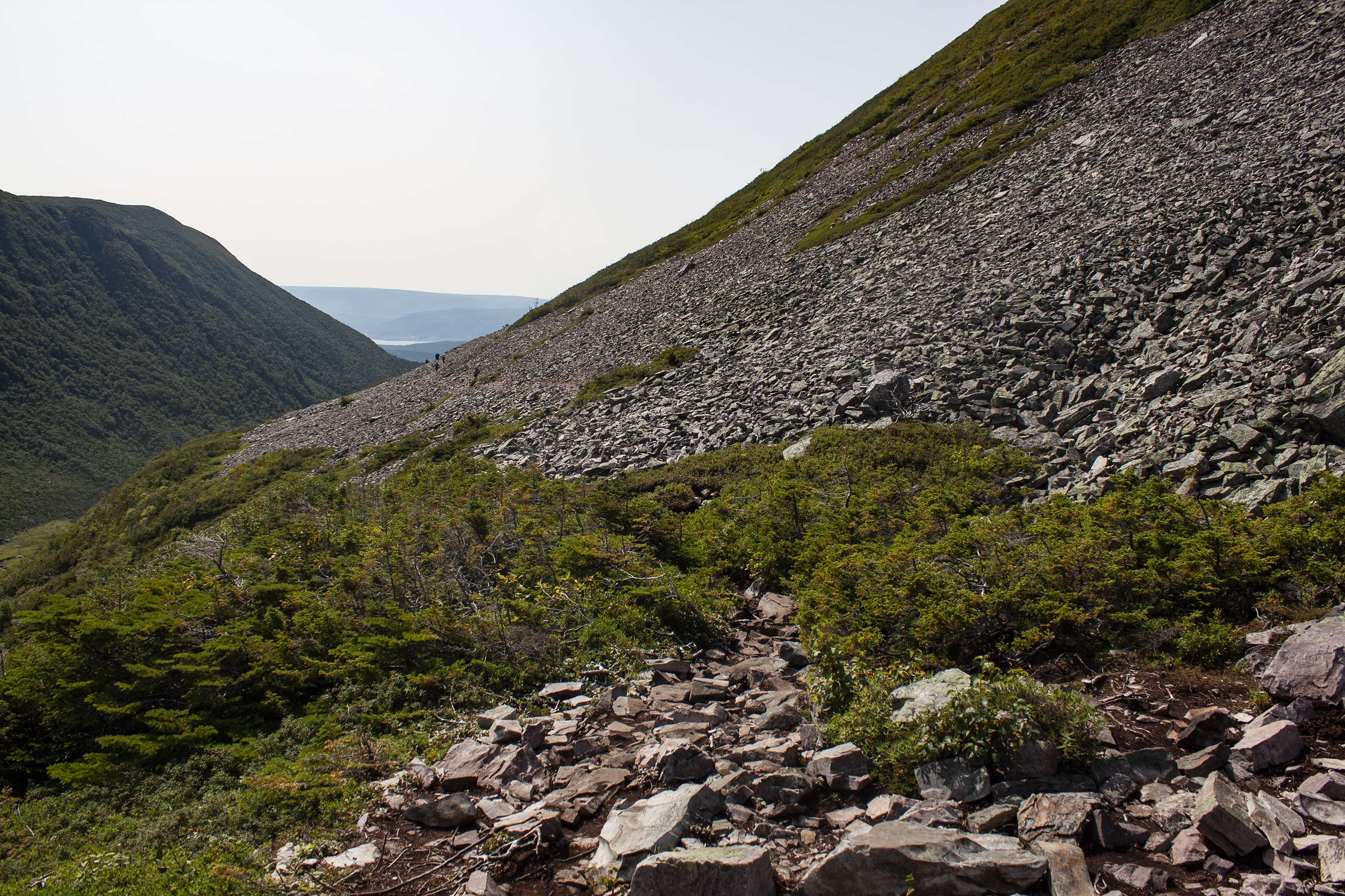 The eastern portion of the trail at Gros Morne Mountain, pictured on Aug. 31, 2017. (Steve Silva)