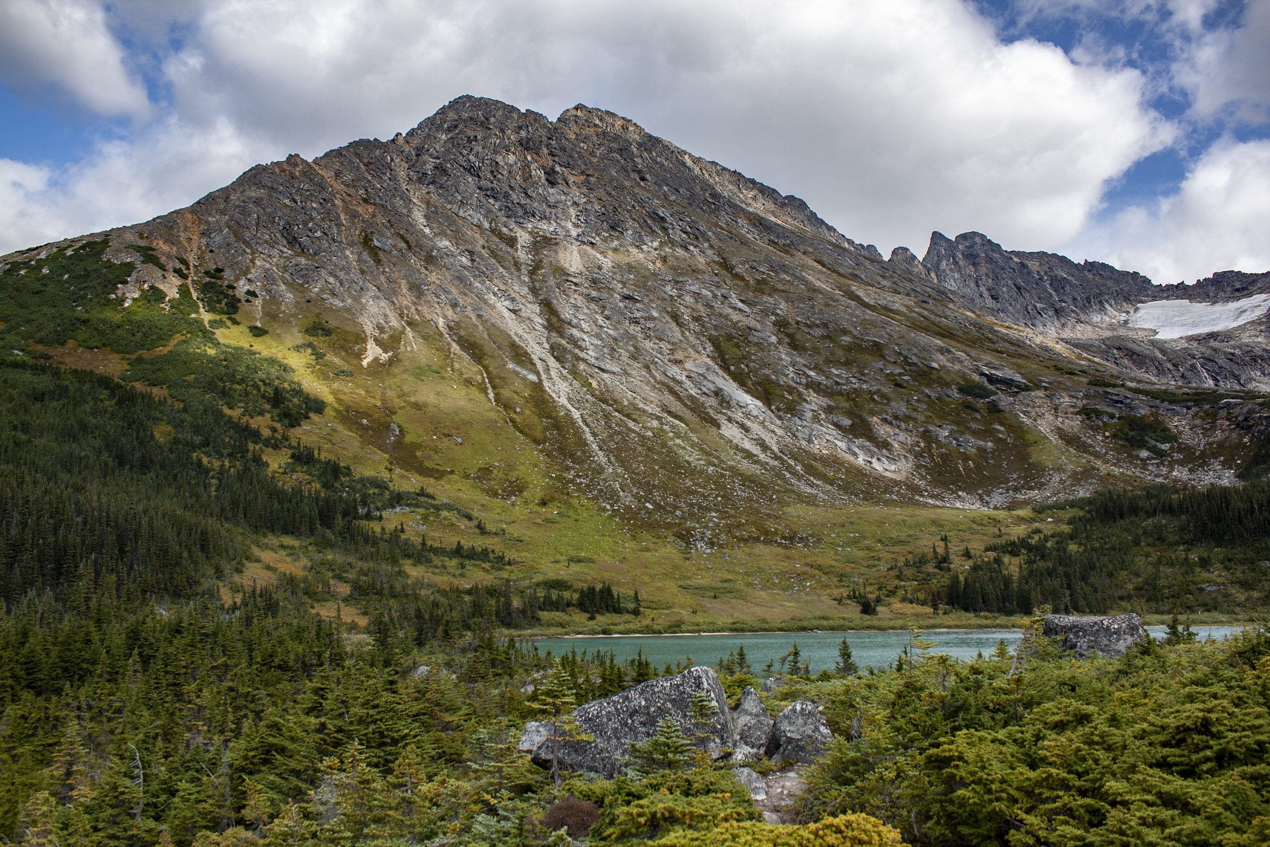 Upper Dewey Lake in Skagway, Alaska, pictured on Aug. 18, 2019. (Steve Silva)